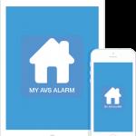MYAVS alarm aplikacija