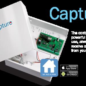 Capture Alarmna centrala AVSelectronics